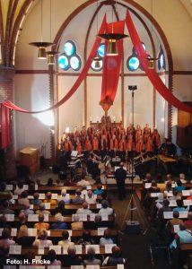Aufnahme Gospel-Konzert