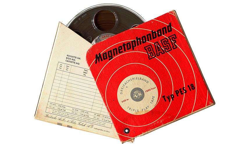 Magnetophonband