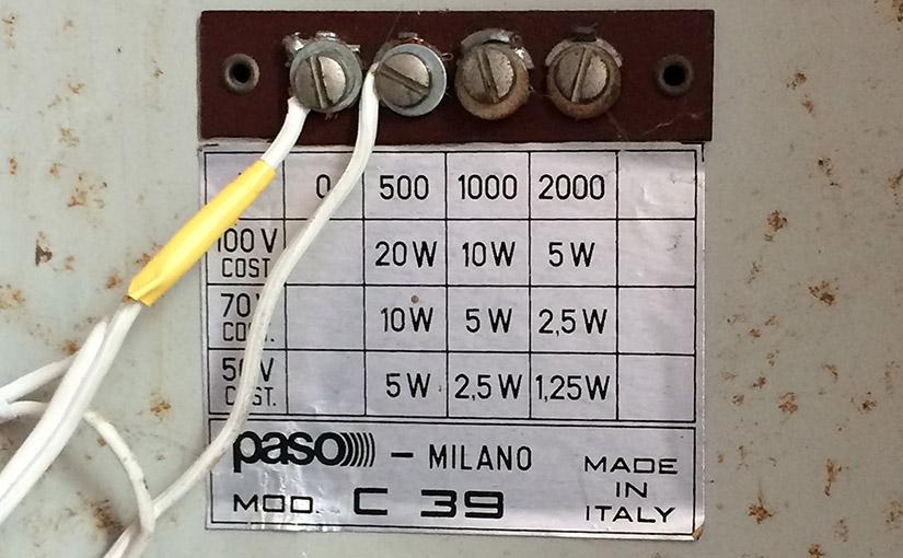 100V-Technik