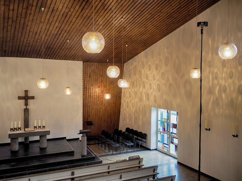 Orgelaufnahmen in der Emmaus-Kirche