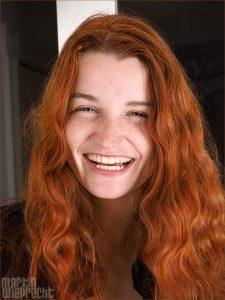 Tanja hat gute Laune
